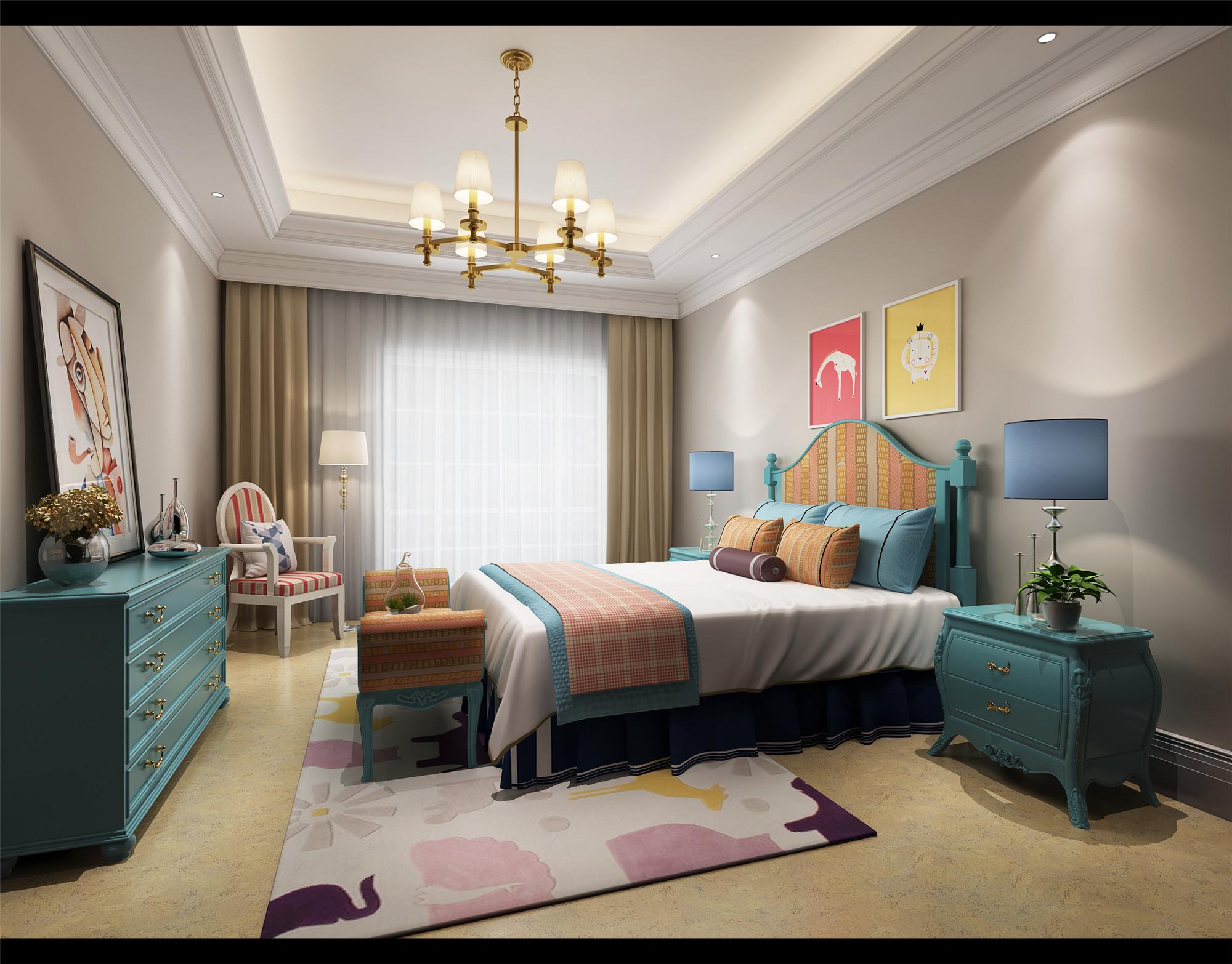 小户型 主卧室