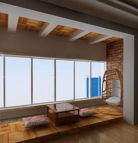 日式 阳台