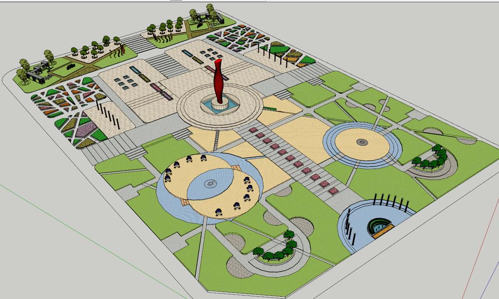 设计 广场