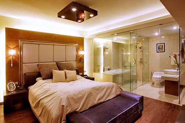 卧室 镜子 装修