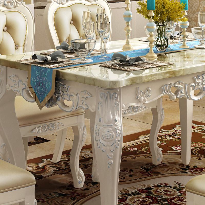 简欧 餐桌椅
