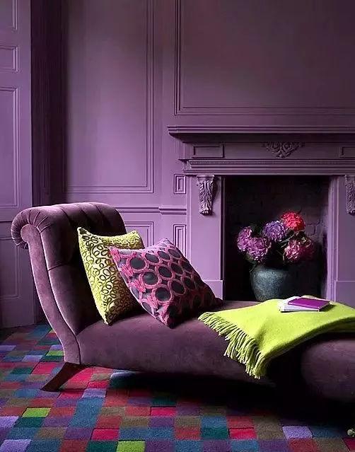 软装 紫色