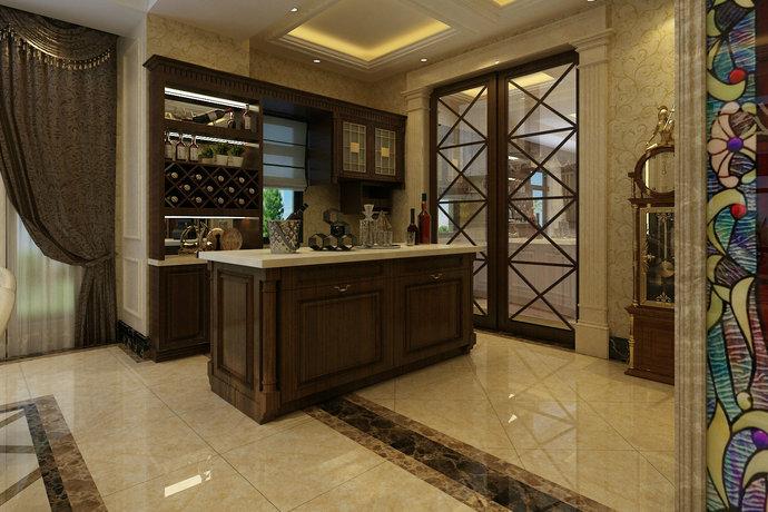 别墅设计 酒柜