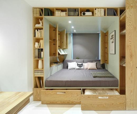 小户型 卧室