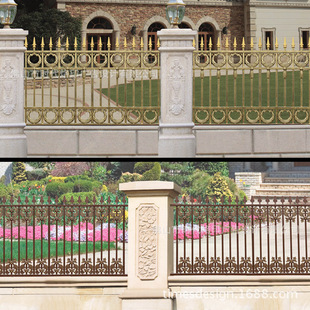 别墅设计 铁栅栏