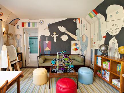 北欧 儿童房 装修