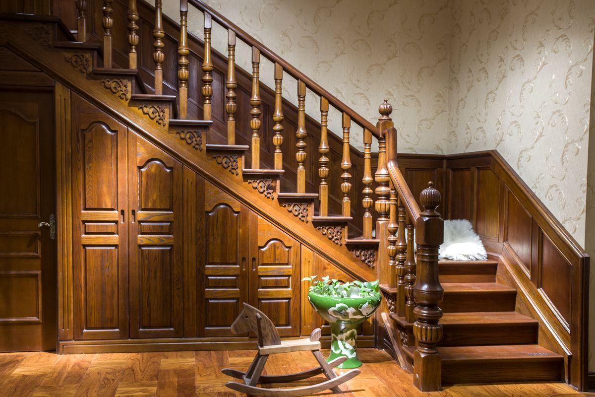 欧式 楼梯