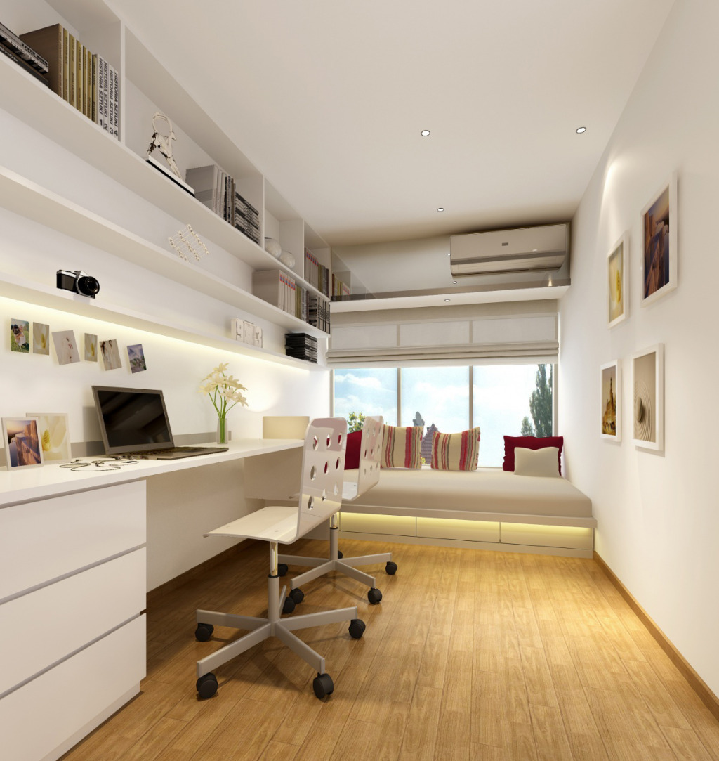 书房 白色