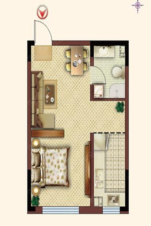 三室 小户型
