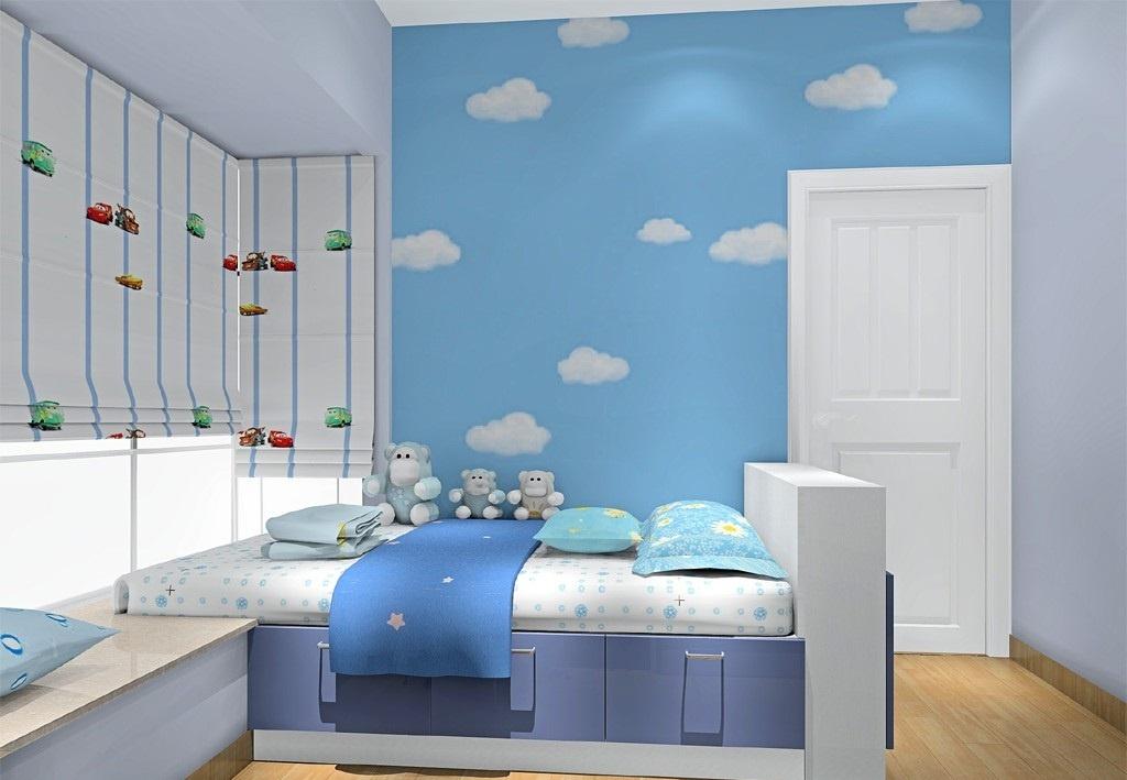 儿童房 蓝色