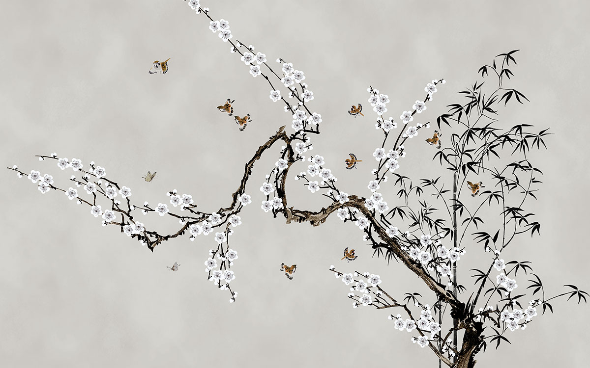 中式 梅花