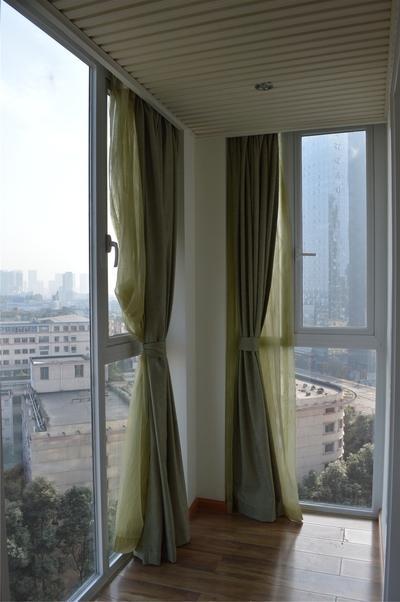 阳台 窗帘
