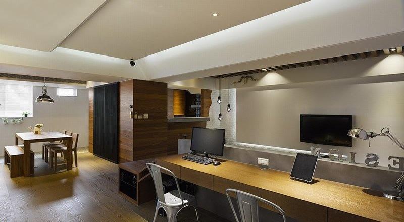 客厅 书桌