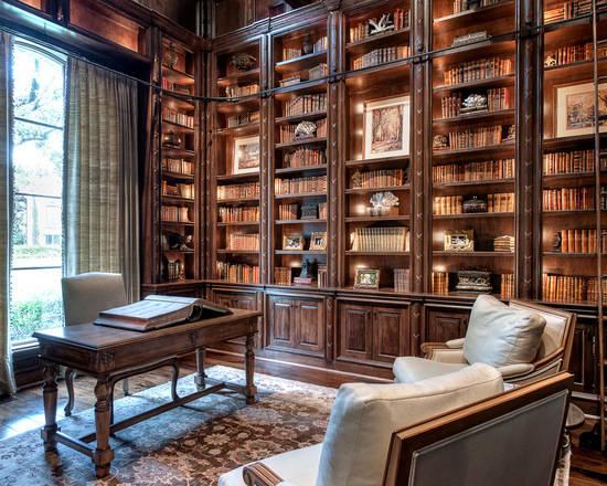 欧式 书房