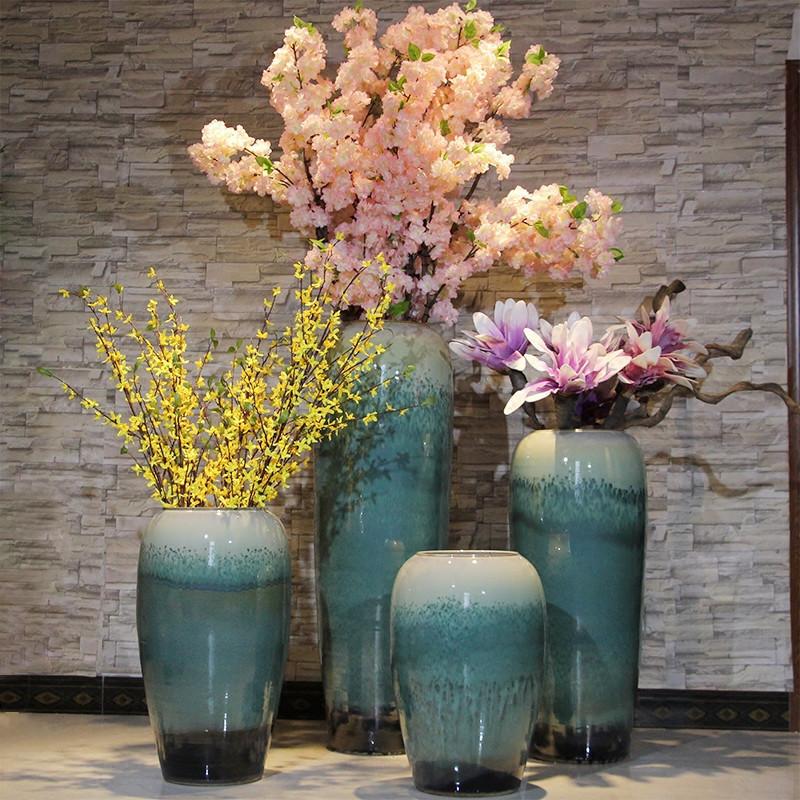 陶罐 鲜花 装修