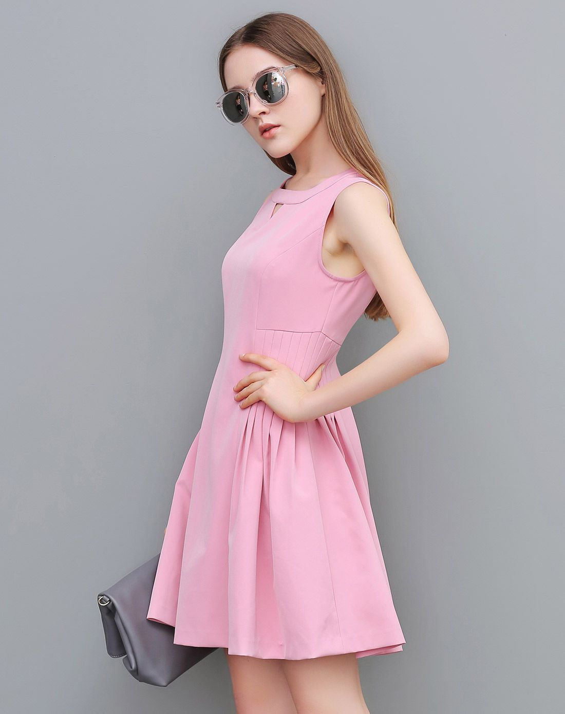 粉色 优雅