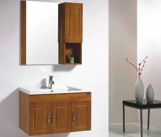 浴室柜 橡木