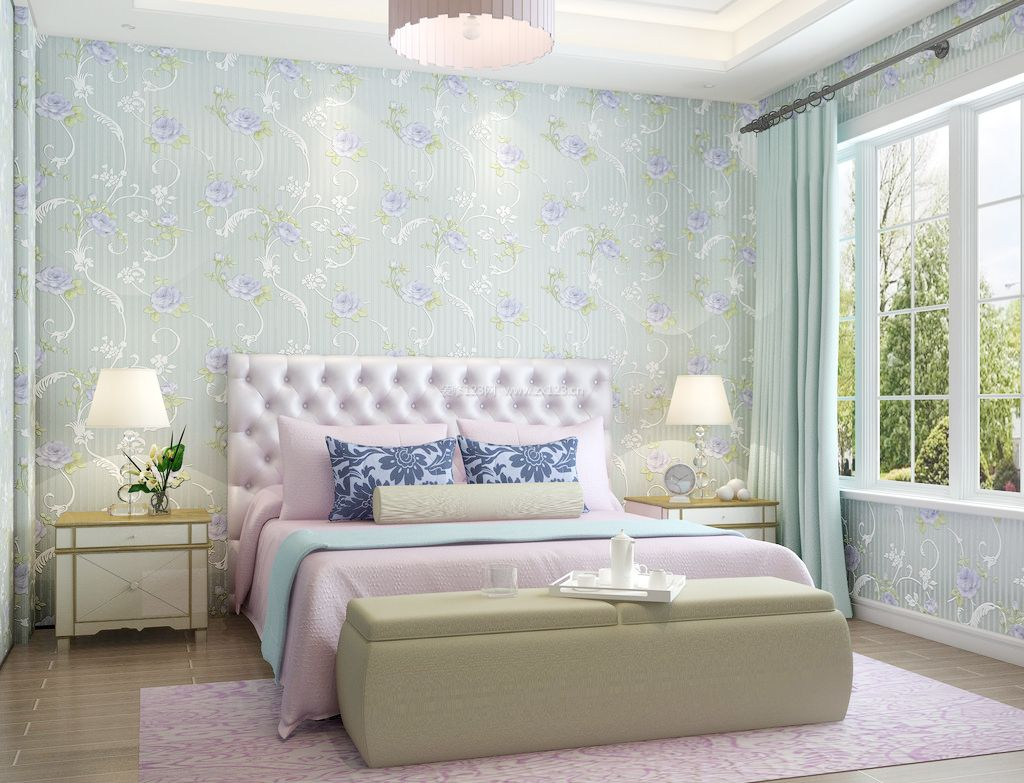 壁纸 卧室 装修