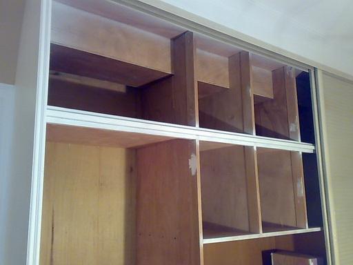 贴墙纸 衣柜