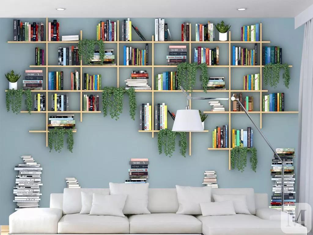 绿植 书房