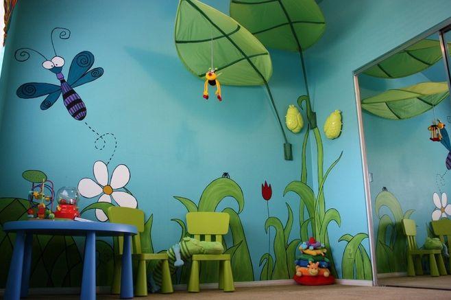 儿童房 涂鸦
