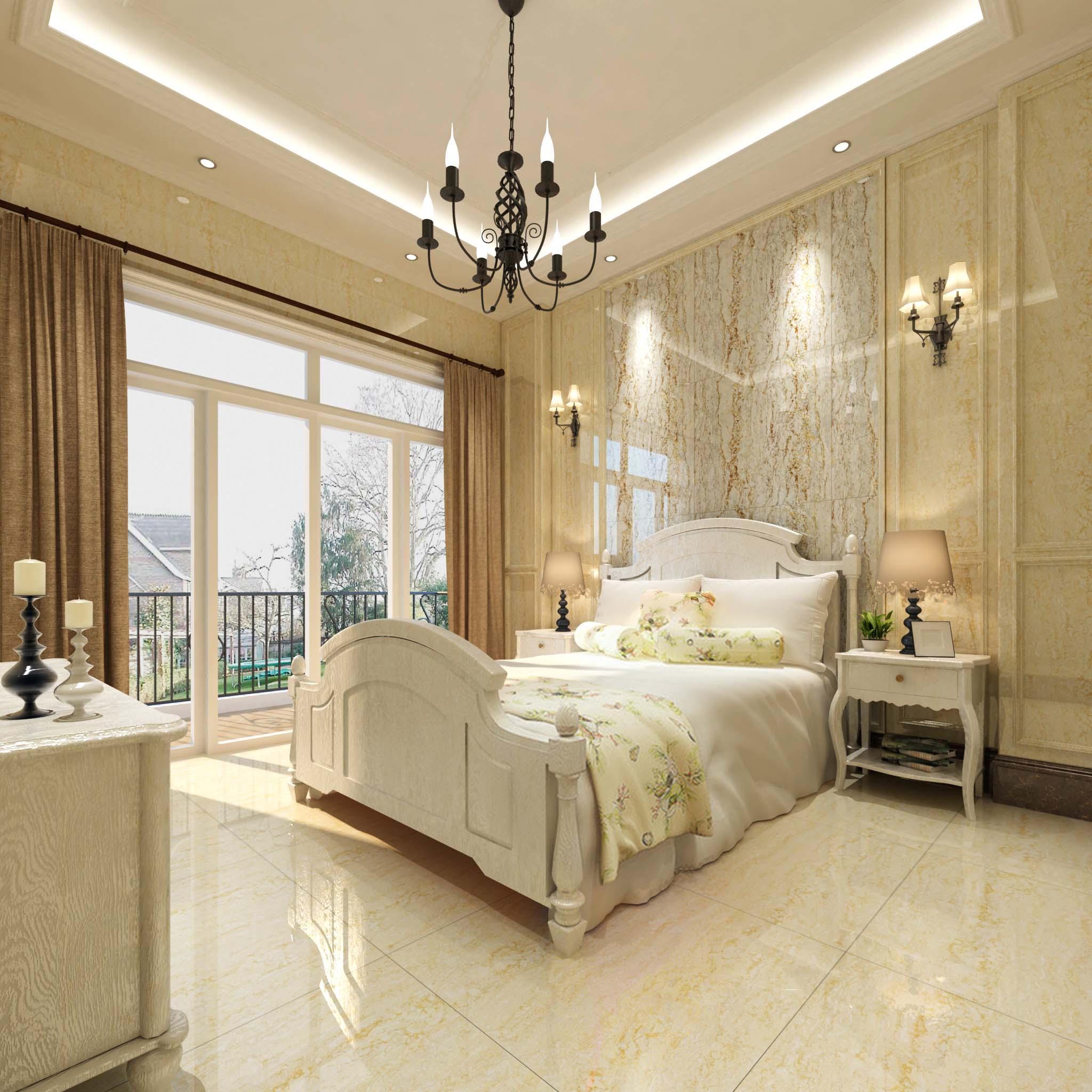 瓷砖 卧室 装修
