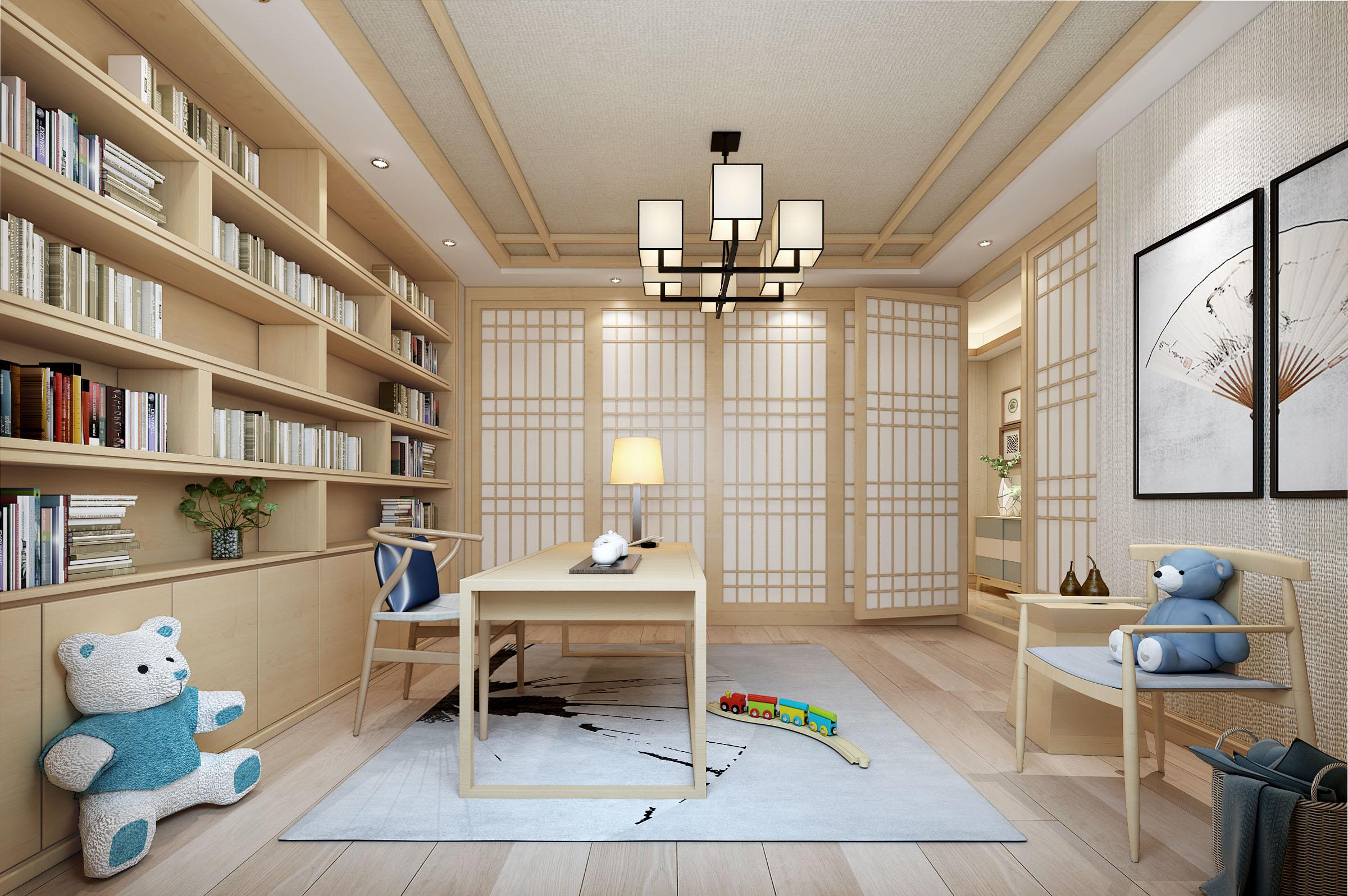 日式 书房