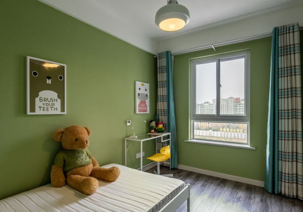 儿童房 绿色