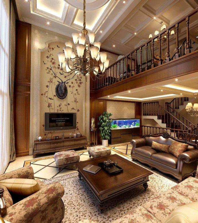 别墅设计 美式