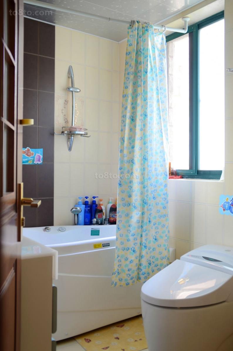 卫生间 浴帘 装修