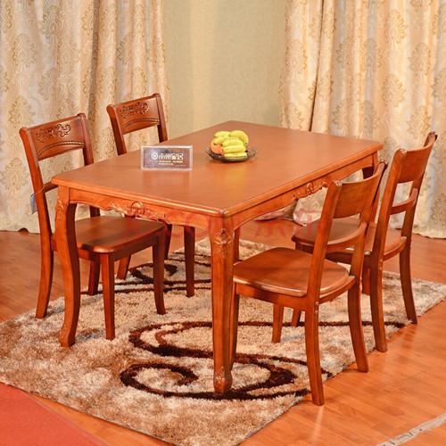 实木 餐桌 装修