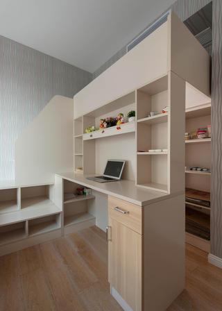二居室现代简约家书桌图片