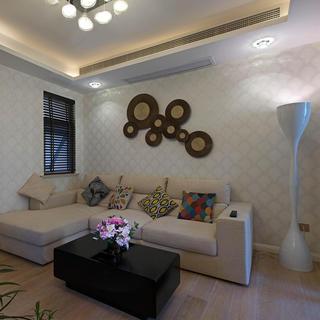 二居室现代简约家 清淡整洁
