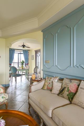 法式乡村风格家沙发图片
