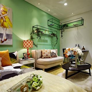小户型装修沙发背景墙设计