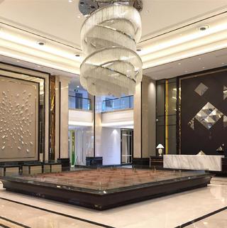 现代时尚售楼处装修效果图