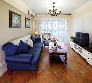 美式两居装修沙发图片