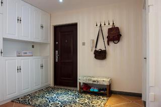 130平简美之家玄关设计
