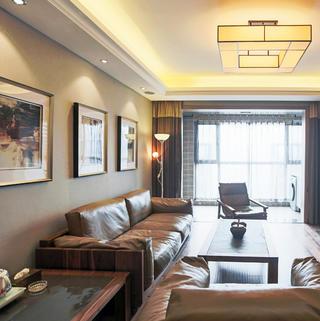 145平新中式三居装修实景图