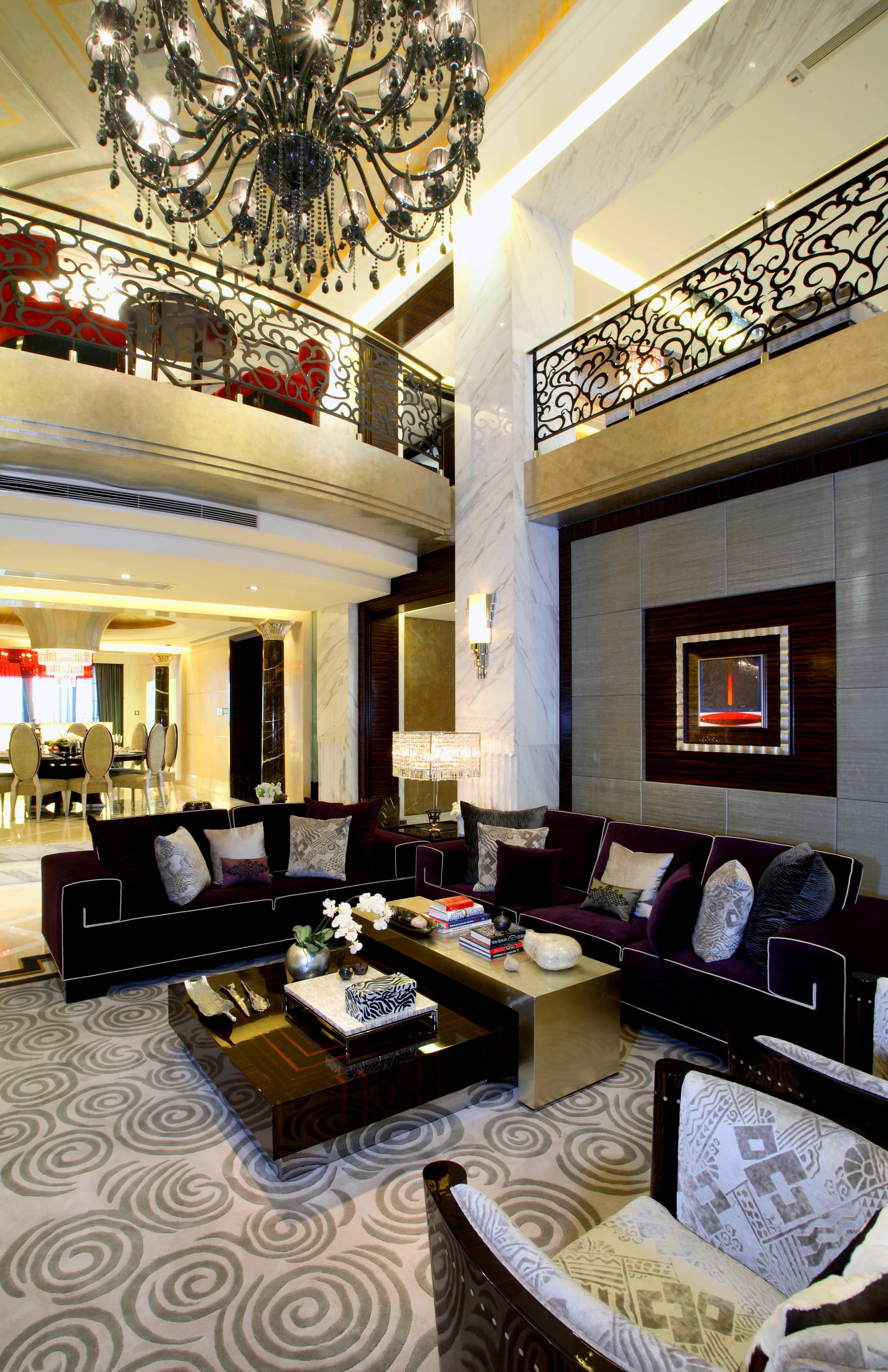 大户型后现代风格装修沙发图片