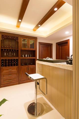 中式别墅装修吧台设计