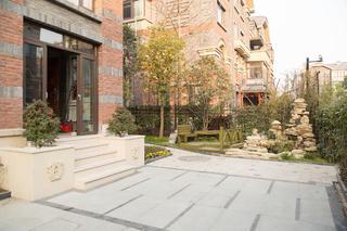 中式别墅装修庭院图片