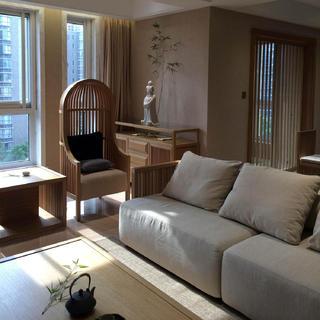 三居室日式之家 素雅禅意空间