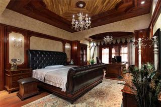 歐式別墅裝修臥室布置圖