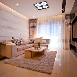 90平简约二居装修设计图