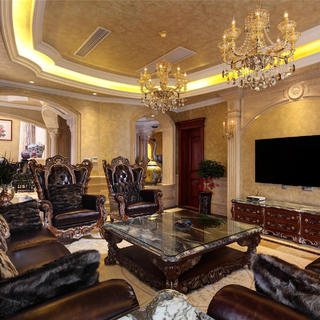 豪华高贵欧式别墅装修设计图