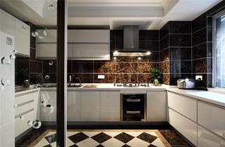 新古典装修厨房效果图