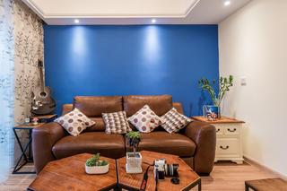 75平两居装修沙发图片