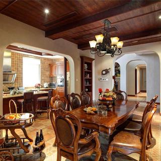古典美式别墅装修设计图