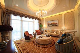 现代欧式别墅装修亲友室设计图